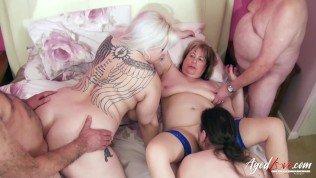 AgedLovE Hardcore Intercourse with Mature Ladies