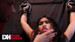 Deviant hardcore – Asian Sub gets dominated by master