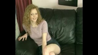English redhead takes a big dick in her tight pussy