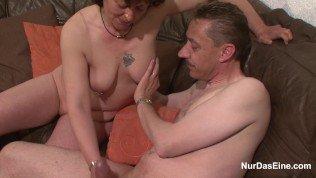 German Mature get fucked Hardcore after seduce on Street