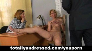 Hardcore job interview for sexy blonde