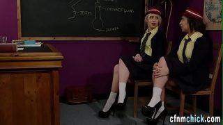High school uniformed brit pussie fuck