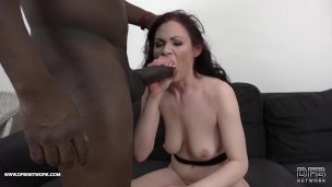 Stepmom in hardcore black anal gets ass fucked and pussy licked