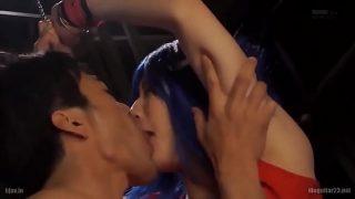 Teen couple fuck and a nice blowjob xxx